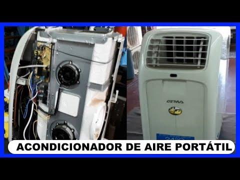 AIRE ACONDICIONADO PORTATIL - REPARACIÓN CAMBIO DE PLACA ELECTRÓNICA UNIVERSAL.