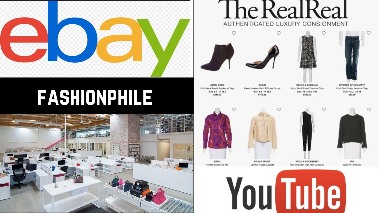 Best place to sell luxury items| ebay| Fashionphile | The Real Real | Local consignment | Youtube