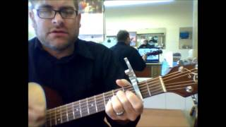 "How to play ""Kentucky Woman"" by Neil Diamond on acoustic guitar"