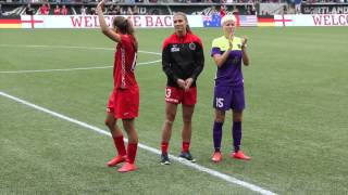 Portland Thorns honor members of Women