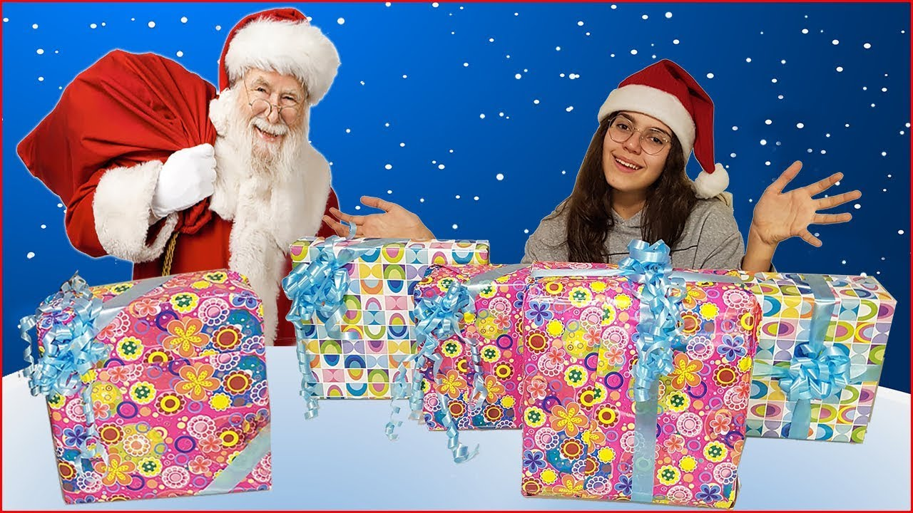 Regali Di Babbo Natale Giochi.Regali Di Natale Cosa Mi Porta Babbo Natale 2 Che Sorpresa By Giulia Guerra