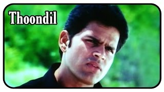 Thoondil Tamil Movie Scenes | Shaam tells the truth to Divya Spandana
