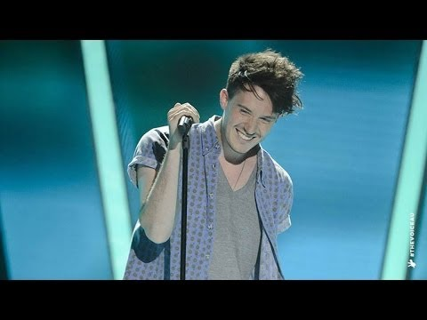 Peter White Sings Sweet Disposition  The Voice Australia 2014