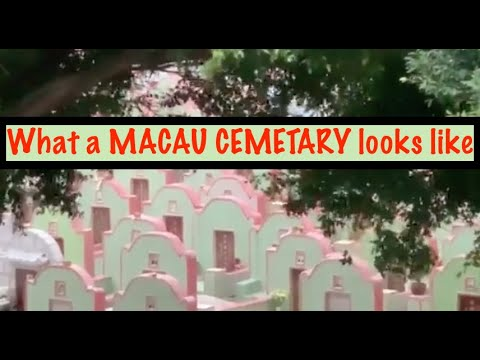 What a Macau Cemetary looks like