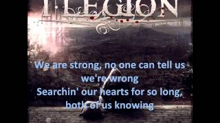 I Legion - Love Is A Battlefield Lyrics Video