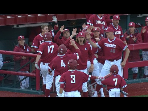 Recap: Washington State baseball clinches series over rival Washington