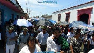 Semana Santa 2012 en San Pablo Huixtepec (Viacrucis y Encuentro)