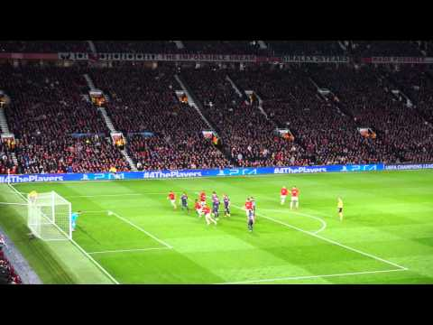140319 Manchester United : Olympiacos 3rd goal by Robin Van Persie