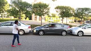 Funny Parking Prank - Why should Boys have all the Fun :)