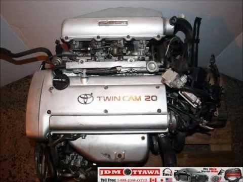 92-95 JDM Toyota, 4AGE, 1.6L 20 VALVE SILVER TOP ENGINE, 5SPD TRANS, ECU