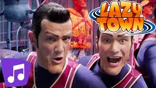 Lazy Town | We Are Number One | Music Video | Kids Karaoke
