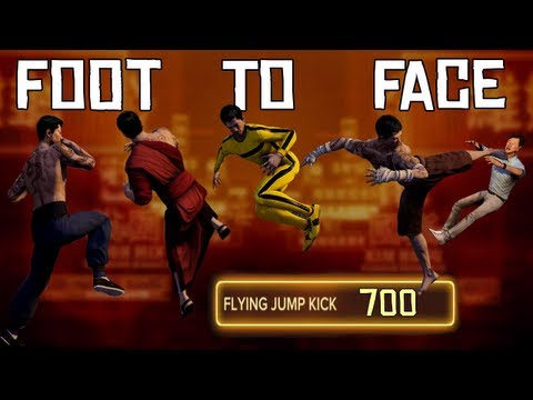 Sleeping Dogs: The Foot to Face Challenge