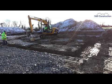 'Strip Foundation' - Excavation & Reinforcement