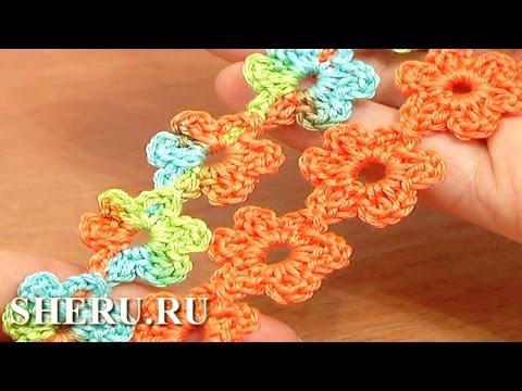 51 Вязание крючком шнура