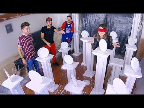 UNA NOTTE AL MUSEO CHALLENGE **CHI ROMPE MENO PIATTI VINCE** ft. Matt & Bise