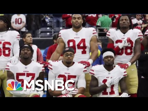 Fmr. NFL Star Slams Trump Says the n f l  kneels to trump