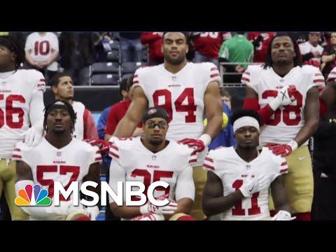 The NFL Kneels to Trump the n f l  kneels to trump