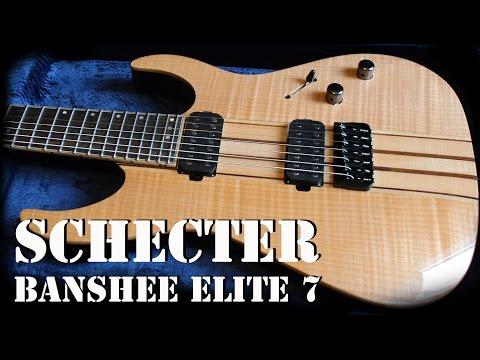Schecter Banshee Elite 7 Demo