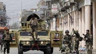 القوات العراقية تستعيد السيطرة على المجمع الحكومي في الفلوجة