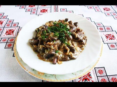 Салаты с грибами рецепты