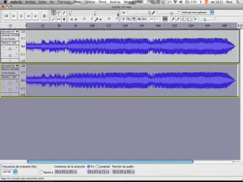 Audacity tutorial karaoke