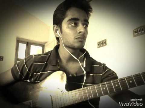 Malare mounama | karnaa | Guitar lead instrumental |  Subash Subramanian |