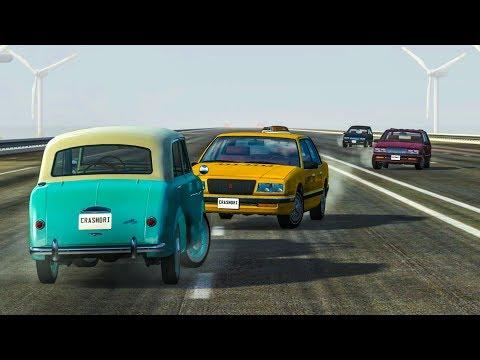 Mega High Speed Cinematic Crashes #1 - BeamNG Drive