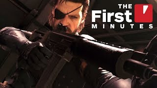 The First 19 Minutes of Metal Gear Survive (Captured in 4K)