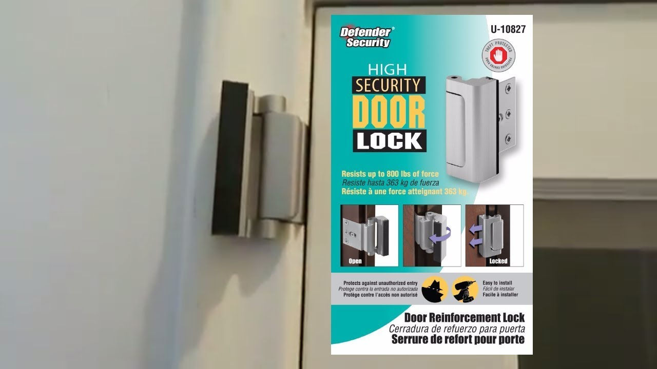 Tg High Security Door Lock Installation Youtube