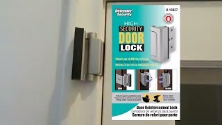 TG High Security Door Lock Installation