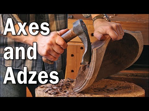 Axes and Adzes for the Bowl Carver with Dave Fisher