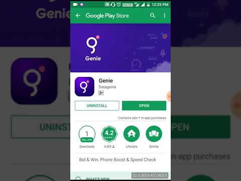 Genie App Unlimited free Paytm Cash earn Hindi video