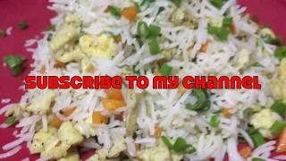 #EggFriedRice Recipe   ఎగ్ ఫ్రైడ్ రైస్   Real Chinese Egg Fried Rice   Simple Egg Fried Rice  