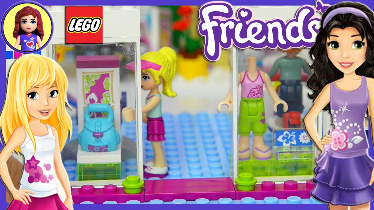 Lego Friends Heartlake Shopping Mall Build Review And Play Part 1