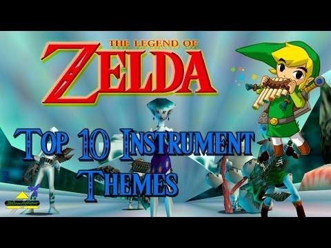 Zelda - Top 10 Instrument Themes
