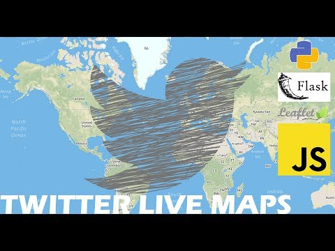 Twitter Visualization - Display Tweets On A Map In Real Time