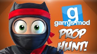 GMod Prop Hunt! - Giggle Meter, Sneaky Glitches, Taking One For The Team! (Garrys Mod Funny Moments)