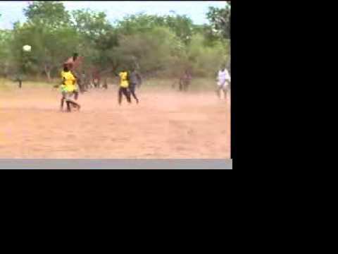 Football at Bui, Ghana