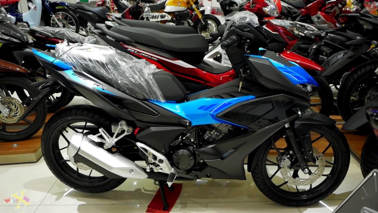 Honda Winner X 150i 2019 - Phiên bản thể thao Đen Xanh - Walkaround