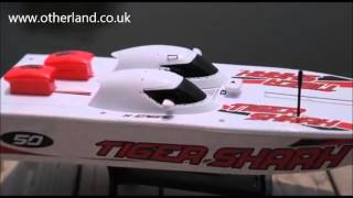HOBBY ENGINE RC BOATS MAD DOG TIGER SHARK & SEA SWORD