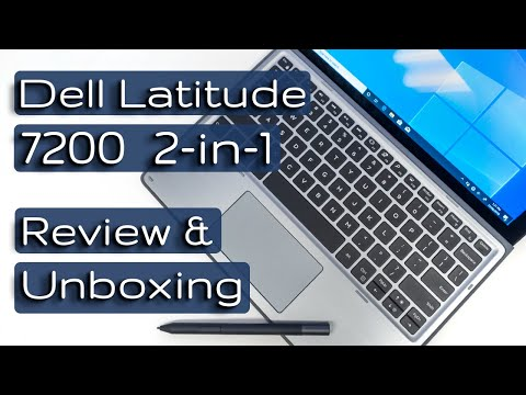 Dell Latitude 7200 2-in-1 Review and Unboxing (inc Jitter test and Krita)