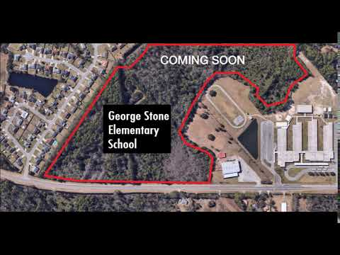 George Stone Elementary School will need to be built on 1706 Dog Track Rd 32506 soon