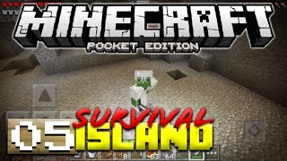 CAVING! - MCPE SURVIVAL ISLAND #5 - Minecraft PE (Pocket Edition)
