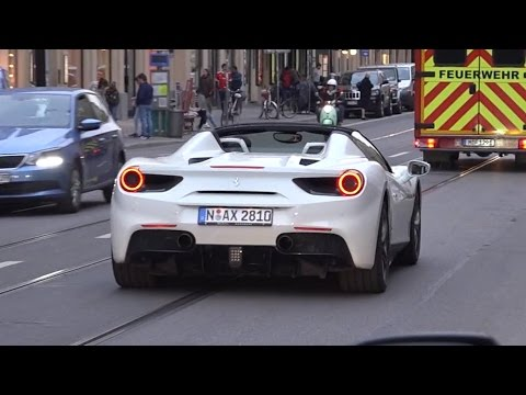 Supercars in Munich - April 2017
