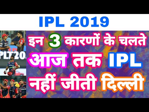 IPL 2019 - Watch 3 Reasons Why Delhi Daredevils Never Win Single IPL Season