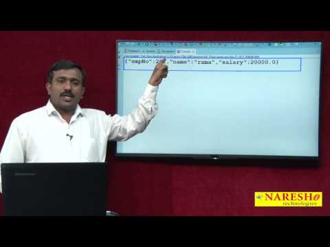 How To Convert Java Object Into JSON And JSON Into Java Object | Session-2 | Mr. Satish B