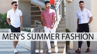 3 EASY SUMMER OUTFITS FOR MEN 2017 | MEN