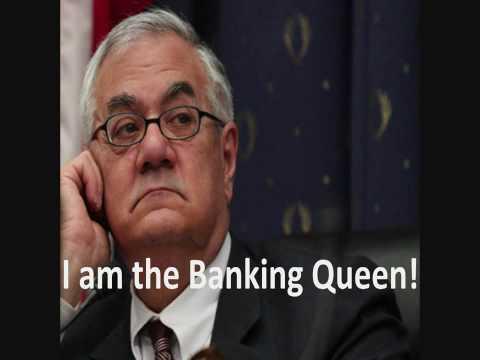 "Barney Frank - ""Banking Queen"" w/ caption"