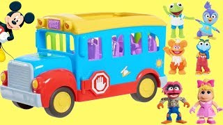 Going Back to School with Muppet Babies First Day Bus Play Set