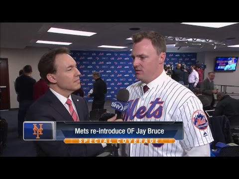 Jay Bruce News Conference